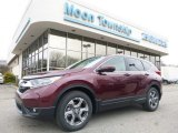 2017 Basque Red Pearl II Honda CR-V EX AWD #119719605