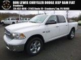 2017 Bright White Ram 1500 Big Horn Crew Cab 4x4 #119719509
