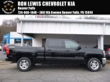 2017 Black Chevrolet Silverado 1500 LT Crew Cab 4x4 #119719505