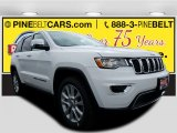 2017 Bright White Jeep Grand Cherokee Limited 4x4 #119719457