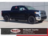 2017 Midnight Black Metallic Toyota Tundra SR5 TSS Off-Road CrewMax 4x4 #119719822