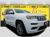 2017 Bright White Jeep Grand Cherokee Summit 4x4 #119719453