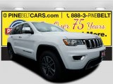 2017 Bright White Jeep Grand Cherokee Limited 4x4 #119719452