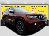 2017 Velvet Red Pearl Jeep Grand Cherokee Limited 4x4 #119719446