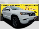 2017 Bright White Jeep Grand Cherokee Limited 4x4 #119719442