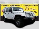 2017 Bright White Jeep Wrangler Unlimited Rubicon 4x4 #119719436