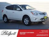 2013 Pearl White Nissan Rogue S #119753543