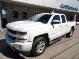 2017 Summit White Chevrolet Silverado 1500 LT Double Cab 4x4 #119753459