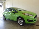 2014 Green Envy Ford Fiesta SE Sedan #119771647