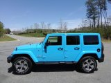 2017 Chief Blue Jeep Wrangler Unlimited Sahara 4x4 #119771507