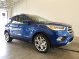 2017 Lightning Blue Ford Escape Titanium 4WD #119771635