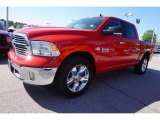 2017 Flame Red Ram 1500 Big Horn Crew Cab #119771670