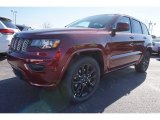 2017 Velvet Red Pearl Jeep Grand Cherokee Laredo #119771663