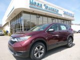 2017 Basque Red Pearl II Honda CR-V LX AWD #119792684