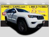 2017 Bright White Jeep Grand Cherokee Limited 4x4 #119792476