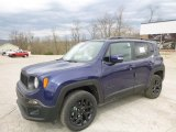 2017 Jetset Blue Jeep Renegade Latitude 4x4 #119792740