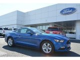 2017 Lightning Blue Ford Mustang V6 Coupe #119792610