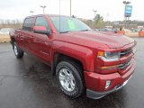 Siren Red Tintcoat Chevrolet Silverado 1500 in 2017