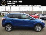 2017 Lightning Blue Ford Escape Titanium 4WD #119792516