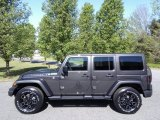 2017 Granite Crystal Metallic Jeep Wrangler Unlimited Smoky Mountain Edition 4x4 #119792430