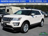 2017 White Platinum Ford Explorer Limited 4WD #119792421