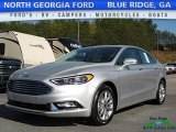 2017 Ingot Silver Ford Fusion SE #119792419