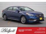 2017 Lakeside Blue Hyundai Sonata Sport #119792764