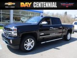 2017 Black Chevrolet Silverado 1500 High Country Crew Cab 4x4 #119825212