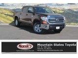2017 Sunset Bronze Mica Toyota Tundra SR5 CrewMax 4x4 #119847070