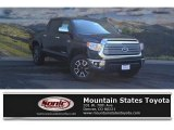 2017 Midnight Black Metallic Toyota Tundra Limited CrewMax 4x4 #119847066