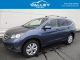 2012 Twilight Blue Metallic Honda CR-V EX 4WD #119847018