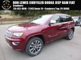 2017 Velvet Red Pearl Jeep Grand Cherokee Overland 4x4 #119847174