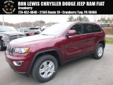 2017 Velvet Red Pearl Jeep Grand Cherokee Laredo 4x4 #119847172