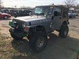 2001 Jeep Wrangler Silverstone Metallic