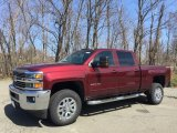 Butte Red Metallic Chevrolet Silverado 2500HD in 2017