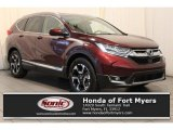 2017 Basque Red Pearl II Honda CR-V Touring #119847100