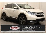 2017 White Diamond Pearl Honda CR-V Touring #119847098