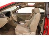 Toyota Solara Interiors