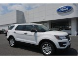 2017 Oxford White Ford Explorer FWD #119883731