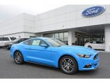 2017 Grabber Blue Ford Mustang GT Premium Coupe #119883730