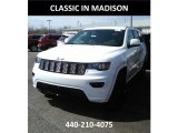 2017 Bright White Jeep Grand Cherokee Laredo 4x4 #119883875