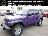 2017 Extreme Purple Jeep Wrangler Unlimited Sport 4x4 #119883677