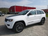 2017 Bright White Jeep Grand Cherokee Trailhawk 4x4 #119883801