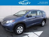 2014 Twilight Blue Metallic Honda CR-V LX AWD #119883616