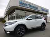 2017 White Diamond Pearl Honda CR-V Touring AWD #119883793