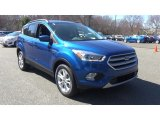 2017 Lightning Blue Ford Escape SE 4WD #119909481