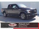 2017 Shadow Black Ford F150 XLT SuperCrew #119909425
