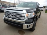 2017 Midnight Black Metallic Toyota Tundra Limited CrewMax 4x4 #119970767