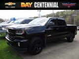 2016 Black Chevrolet Silverado 1500 LTZ Crew Cab 4x4 #119970647