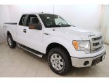 2014 Oxford White Ford F150 XLT SuperCab 4x4 #119970795